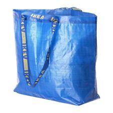 STORAGE BAG W/HANDLE MEDIUM SHOPPING RECYCLE REUSABLE IKEA NEW FREE USA SHIP