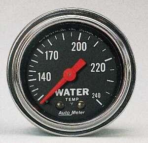 100 240 Water Temp Gauge
