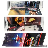 laserdisc Movie Lot Bundle 10 Total Twister Disney Jurassic Park Top Gun Speed