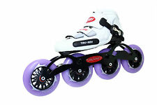 Inline Speed Skate by Trurev. 105mm wheels, ceramic bearings. SIZE 7.5