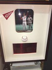 Pete Rose Hit mvp Signed Autographed Custom Frame Shadowbox MVP Ball Stats  COA