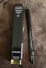 Chanel Stylo Yeux Waterproof Eyeliner Pencil #10 Ebene 0.01 Oz NIB Authentic