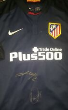 Godin Saul Signed shirt Atletico de Madrid Uruguay Spain proof match worn