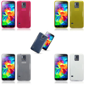 Silicone Slim TPU Gel Back Protector Case Cover for Samsung Galaxy S5