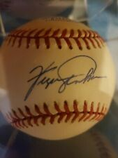 Fergie Jenkins Signed Official Major League Baseball (Chicago Cubs,HOF) COA