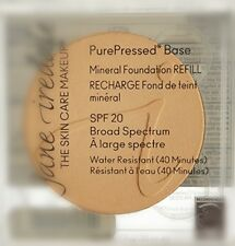 Jane Iredale PurePressed Base Mineral Foundation SPF20 Refill LATTE 0.35oz
