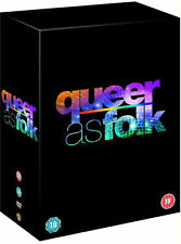 QUEER AS FOLK USA Complete Season 1 2 3 4 5 DVD Box Set Collection NEW R4 Not US