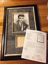 Sal Mineo Signed Autograph Cut Framed Starred With James Dean, Natalie Wood, JSA