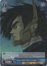 Eian: Bat Clan Leader - BNJ/SX01-070 R 1x Near Mint Weiss Schwarz