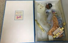 Angels Of Music Harpist Barbie Doll Original Box & Papers African American Model