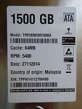 1,5TB TP010302001500A from Western Digital | 27.11.2014 | 2060-771824-003 REV A
