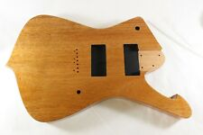 1 pc Mahogany Iceman Guitar Body - 7 String - Fits Ibanez UV RG Necks EMG P484