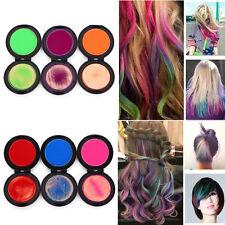 6 Colors Set Non-toxic Temporary Hair Chalk Soft Dye Powder Pastels Tools  Pro.