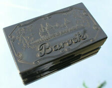 Bakelit Barock Bürochemie Stempelkissen VEB Dresden, vintage chemistry ink pad