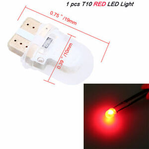 T10 COB Silicone Shell LED COB Car Truck Light Interior Red LED Light Lamp Bulb
