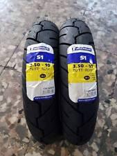 Coppia 3.50-10 59J Michelin S1 per VESPA PX LML DOT2016/2017 in GARANZIA