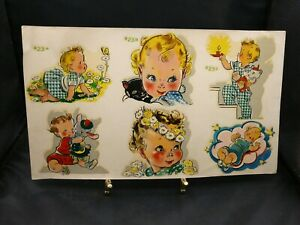 Vintage Decals By Meyercord 23 a Childrens Crafts Decal Stickers