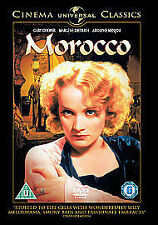 Morocco (DVD) Gary Cooper Marlene Dietri ,free postage uk