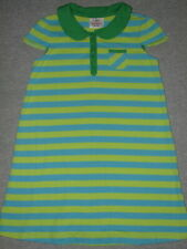 HANNA ANDERSSON Comfy & Cute Striped Summer Dress 120 Girls 6x-7