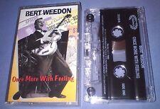 BERT WEEDON ONCE MORE WITH FEELING cassette tape album T3601
