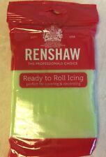 250g Color Verde Pastel Renshaw Regalice / decorice-Roll Out sugarpaste / Guinda