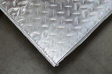 "3003 Aluminum Diamond Plate, Bright - .125 (1/8"") x 48"" x 96"" - 2 PCS"