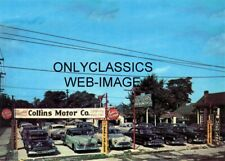 1953 Collins Oldsmobile Motor Co. Auto Dealer Used Car Lot 5X7 Photo Automobilia