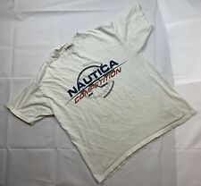 Vintage Nautica Competition Shirt Mens Size Large Made In USA E14
