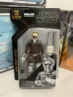 """Star Wars The Black Series Archive Han Solo (Hoth) 6"""" Action Figure IN HAND"""