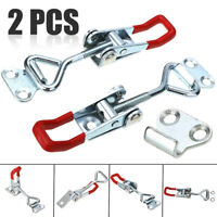 2PCS Quick Toggle Clip Clamp Adjustable Metal Holding Capacity Latch Hand Tool