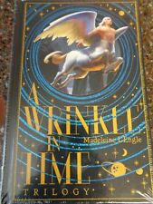 A Wrinkle in Time Trilogy Hardcover Sealed Leather Bound Exclusive