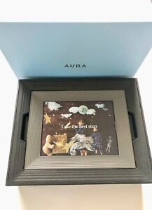 "New in Box Aura Mason 8.9"" Digital Photo Frame - Graphite (52642BBR)"