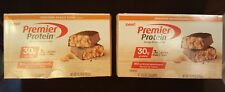 Premier Protein Nutrition Bar Chocolate Peanut Butter 30g Protein 2 Boxes