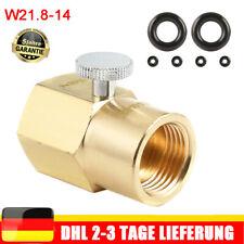 CO2 Zylinder Nachfüllung Adapter W21.8-14 für Füllung Sodastream Soda DE