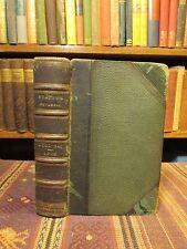 1616 Statius OPERA OMNIA Rare Old Latin Book WORKS of Roman Poet Leather Binding