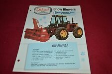 Versatile Tractor Inland Snow Blower Dealer's Brochure YABE