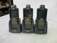*Lot of 3* Motorola Symbol Mc3090 Barcode Scanner w/ Crd3000-1000R Charger