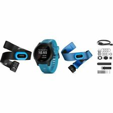 Garmin Forerunner 945 GPS Reloj Pack de Triatlón - Negro/Azul (010-02063-11)