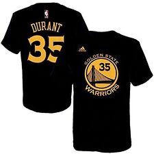 Golden State Warriors # 35 Kevin Durant NBA Basketball Adidas Logo T-Shirt  L