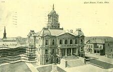 Cadiz,OH. The Court House 1912
