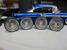 TIRE & WHEEL SETS FOR 1.24 1.25 CUSTOM CARS, TRUCKS JADA, MODEL KITS DIECAST #3