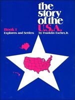 The Story of the U.S.A. Book 1: Explorers & Settlers  NEW