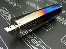Bmw F800 S, St 2006 + Color Titanio Tri Oval camino legal silencioso de escape, puede