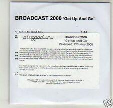 (D438) Broadcast 2000, Get Up and Go - DJ CD