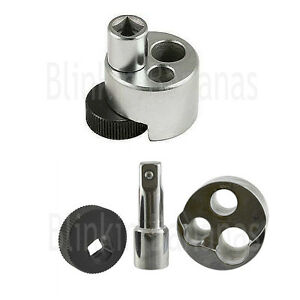 """1/2"""" DRIVE STUD BOLT REMOVER EXTRACTOR TOOL REMOVING DAMAGED BROKEN 1/4"""" TO 3/4"""""""