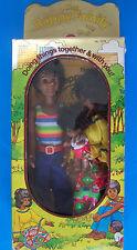 Rare 1975 SUNSHINE FUN FAMILY AA BLACK MOM, DAD & BABY SWEETS DOLLS NRFB