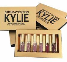 KYLIE Jenner BIRTHDAY Edition Matte Liquid Lipstick New In Box, 6 Piece Gift Set