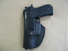 Beretta 92, 92FS, 96, M9 IWB Leather In The Waistband Concealed Carry Holster LH