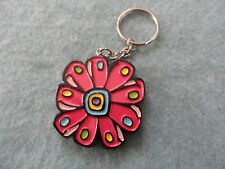 A Colorful Flower       Keychain