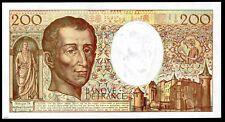200 Francs France banknote Baron Montesquieu - Banconota da 200 Franchi Francesi